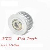 GT2 Rulmanlı Kasnak 20 diş 4 mm
