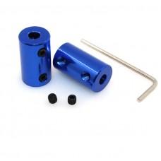 Alüminyum Kaplin 6,35x8 mm, L25 D14 T8 Vidalı mil için