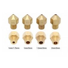 Hotend 1.5mm delikli 3mm Filament için