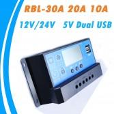 Güneş paneli regülatörü LCD Ekranlı