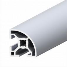 Alüminyum Sigma Profil Radius 30x30 1metre
