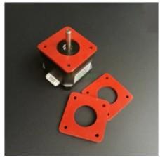 Step Motor silikon kauçuk titreşim damperi Amortisör
