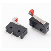 SPDT 5A 125 V 250 V 29mm Makaralı Ark kolu Yapış Eylem Basma Mikro Anahtarları